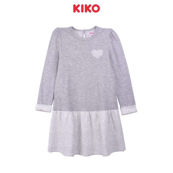 KIKO Girl Long Sleeve Dress K925001-3332-G5 : Buy KIKO online at CMG.MY