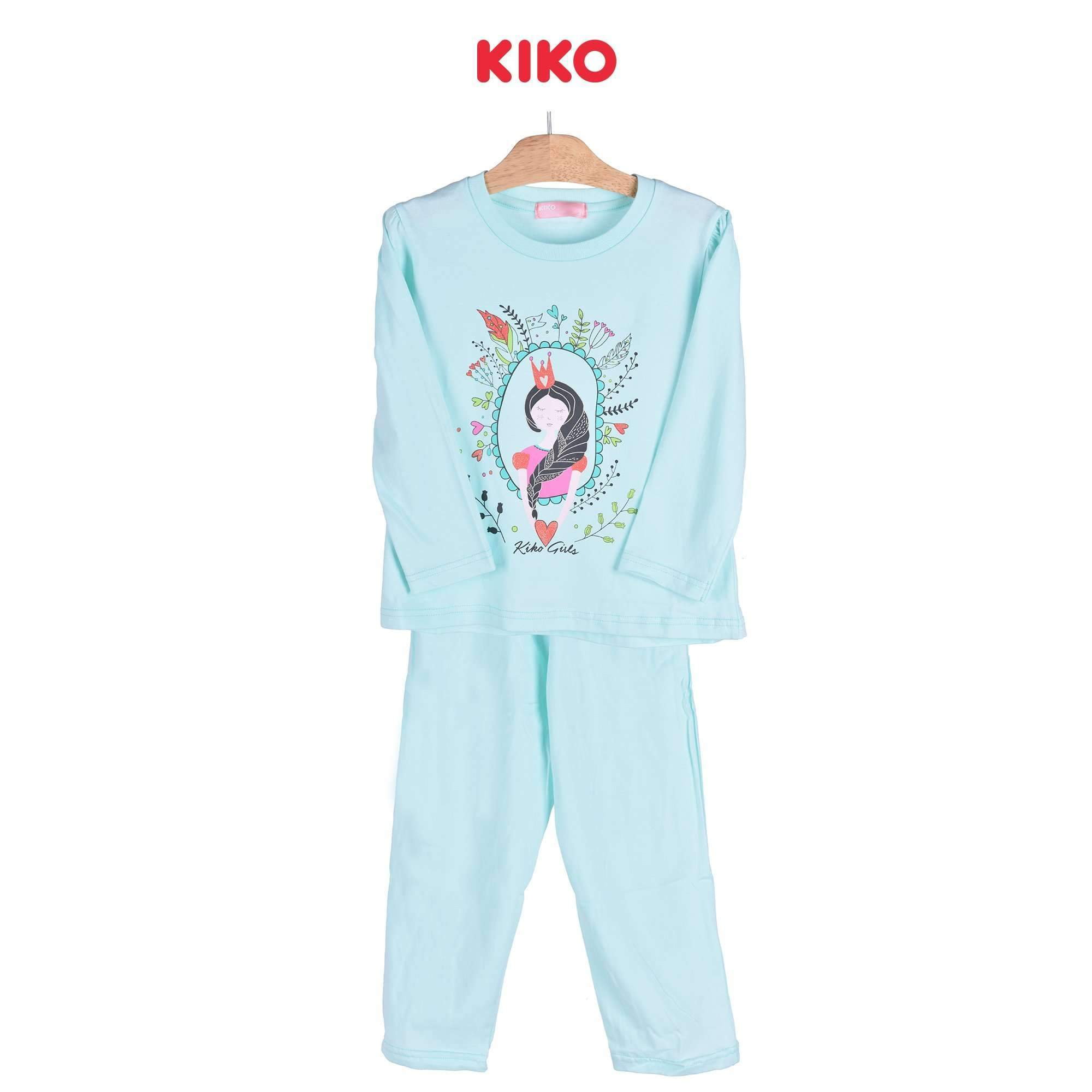 KIKO Girl Long Sleeve Long Pants Suit 126052-434 : Buy KIKO online at CMG.MY