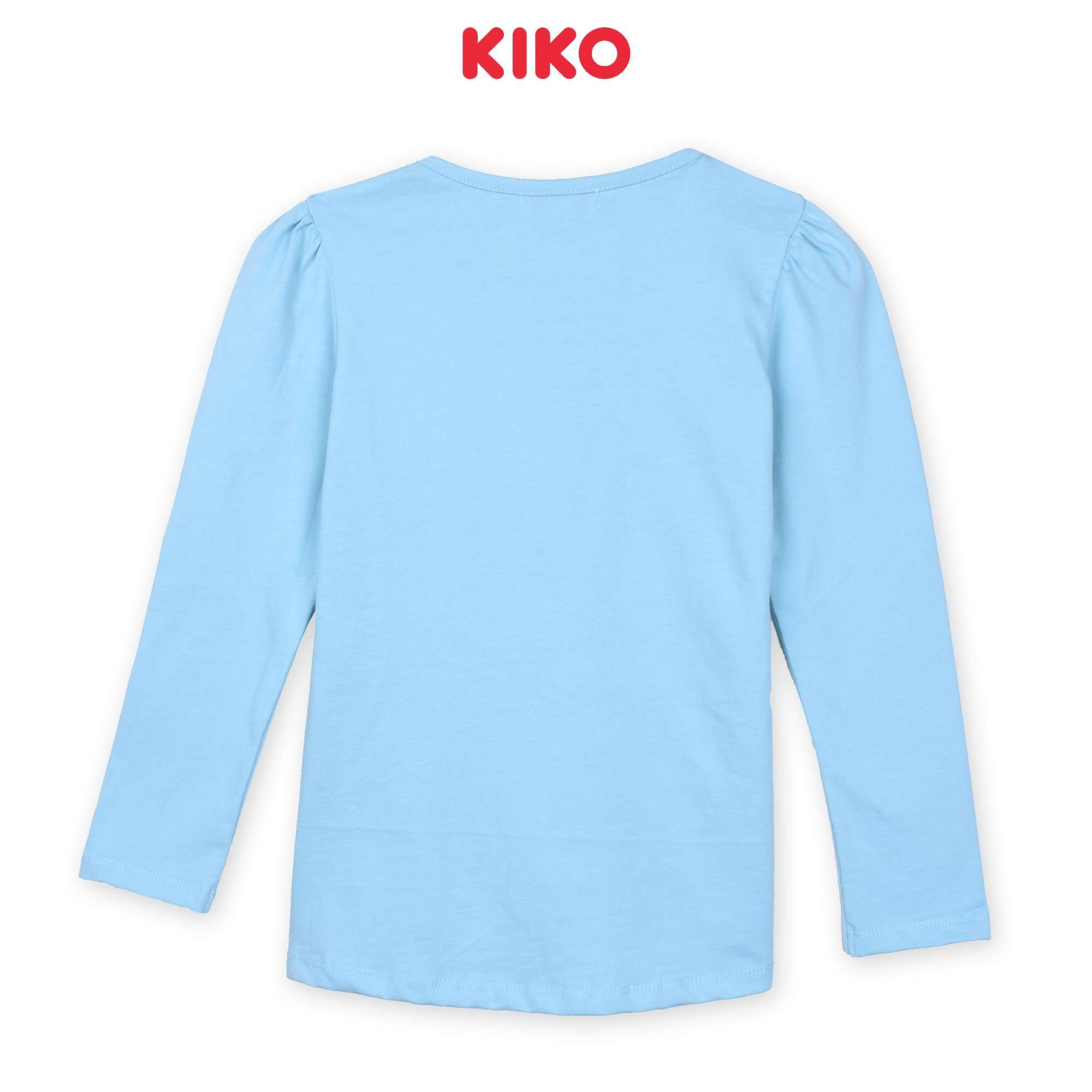 KIKO Girl Long Sleeve Tee - Blue K926103-1340-L5 : Buy KIKO online at CMG.MY