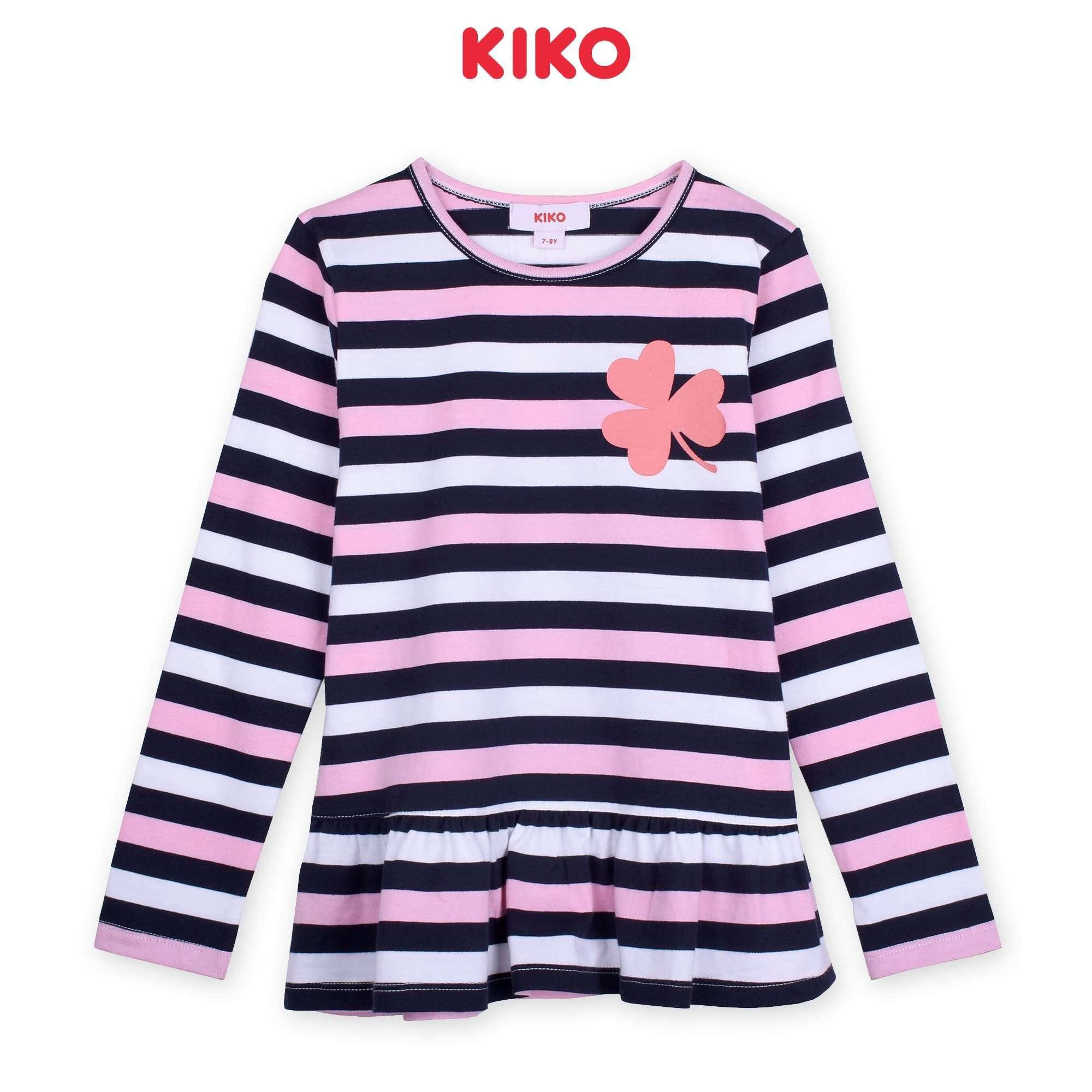 KIKO Girl Long Sleeve Tee - Cream K926103-1338-W5 : Buy KIKO online at CMG.MY