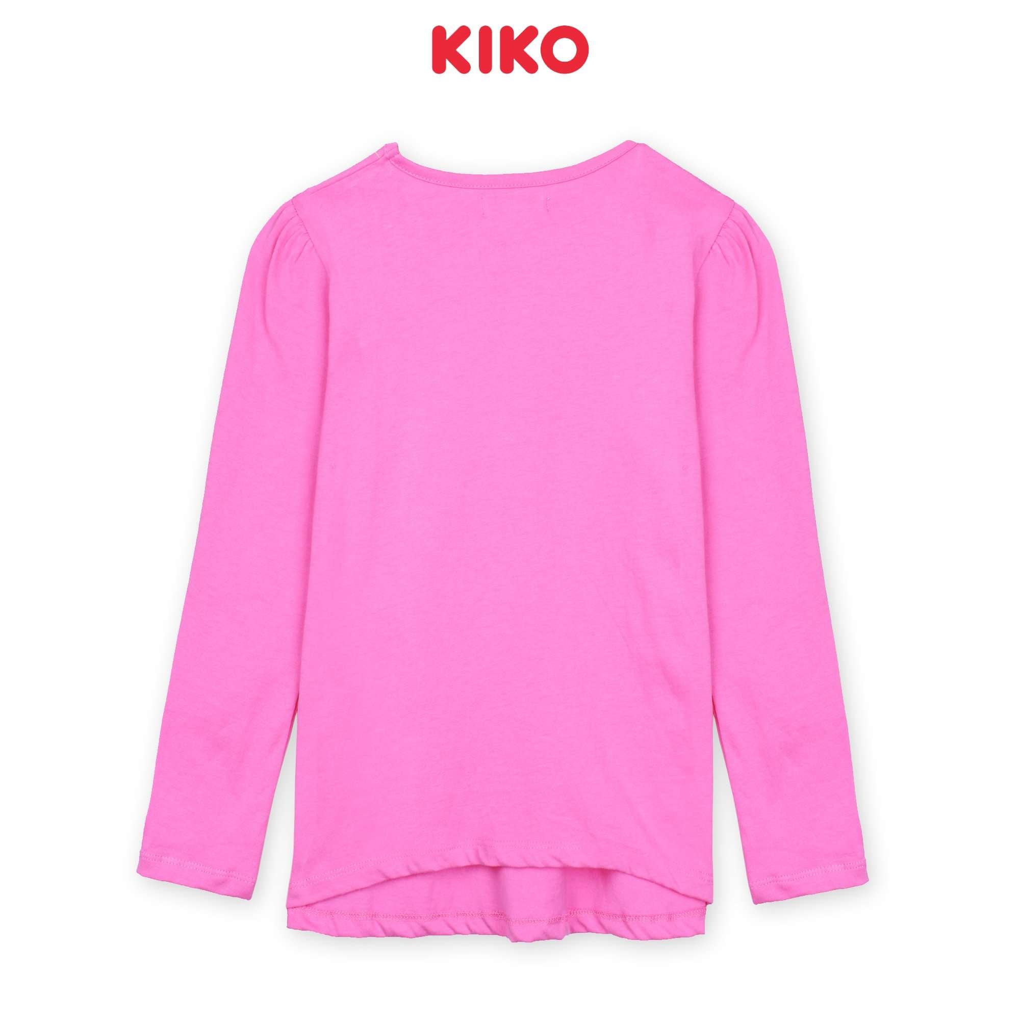 KIKO Girl Long Sleeve Tee - Light Pink K926103-1346-P1 : Buy KIKO online at CMG.MY
