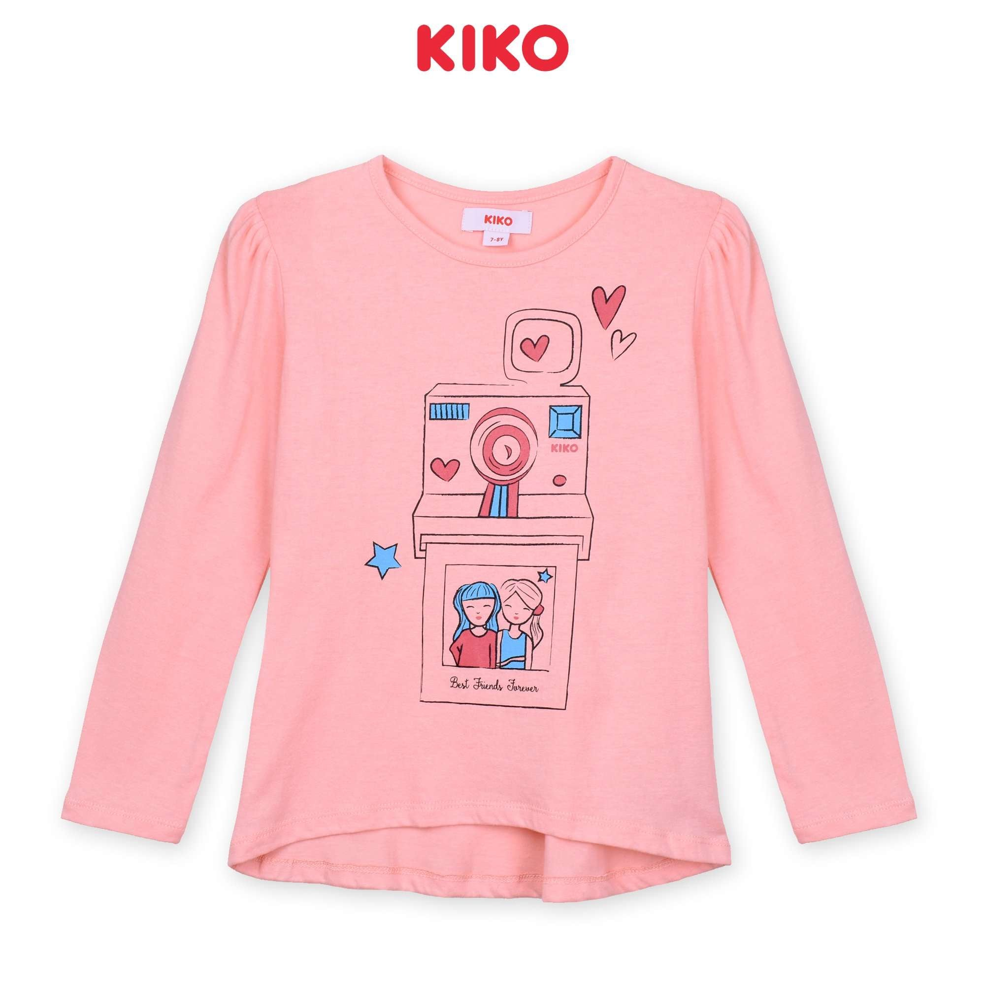 KIKO Girl Long Sleeve Tee - Pink K926103-1335-P5 : Buy KIKO online at CMG.MY