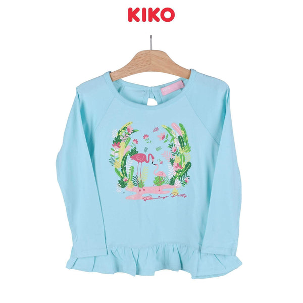 KIKO Girl Long Sleeve Tee 125038-131 : Buy KIKO online at CMG.MY
