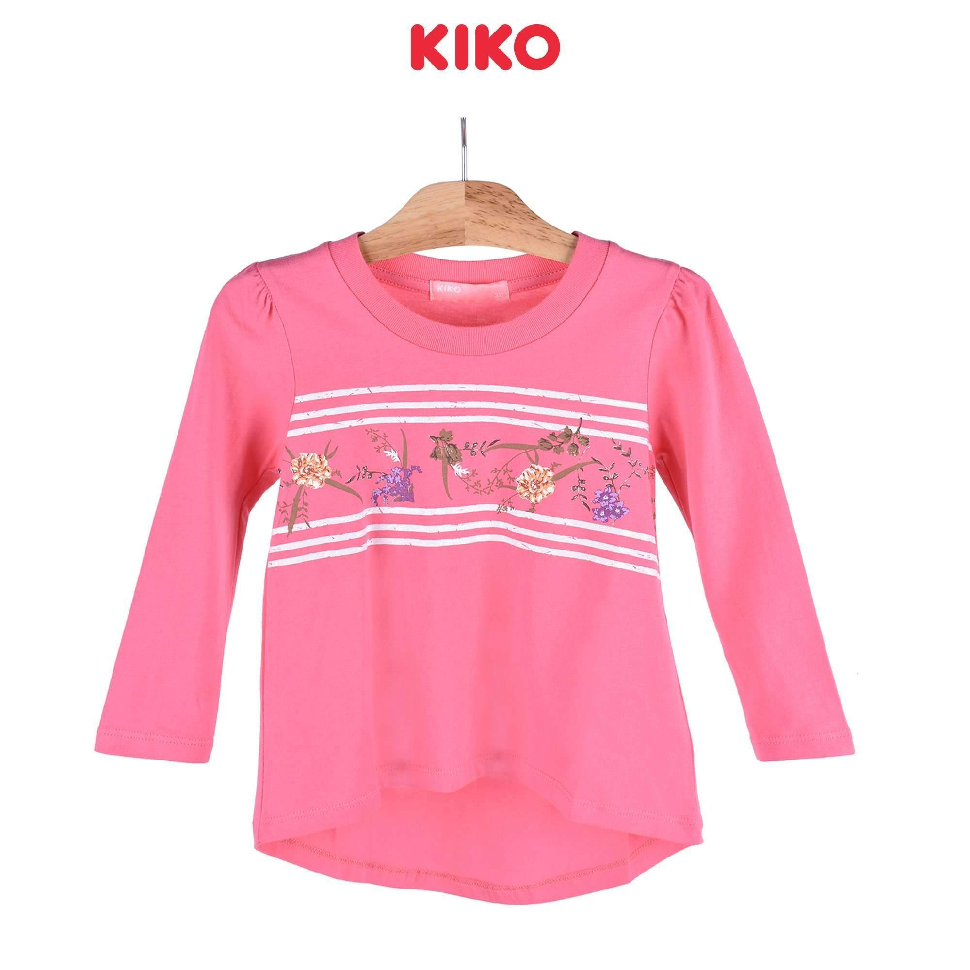 KIKO Girl Long Sleeve Tee 126049-131 : Buy KIKO online at CMG.MY