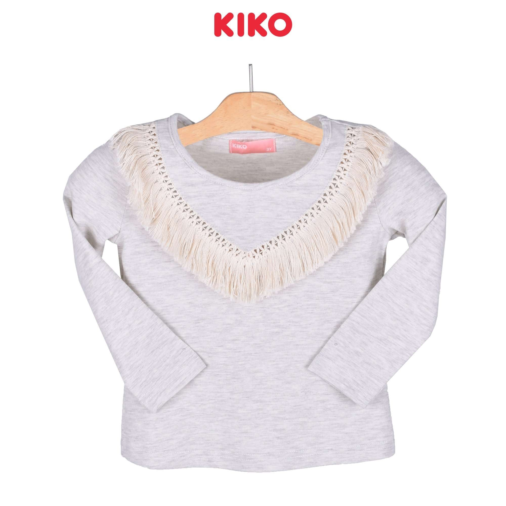 KIKO Girl Long Sleeve Tee 135066-131 : Buy KIKO online at CMG.MY