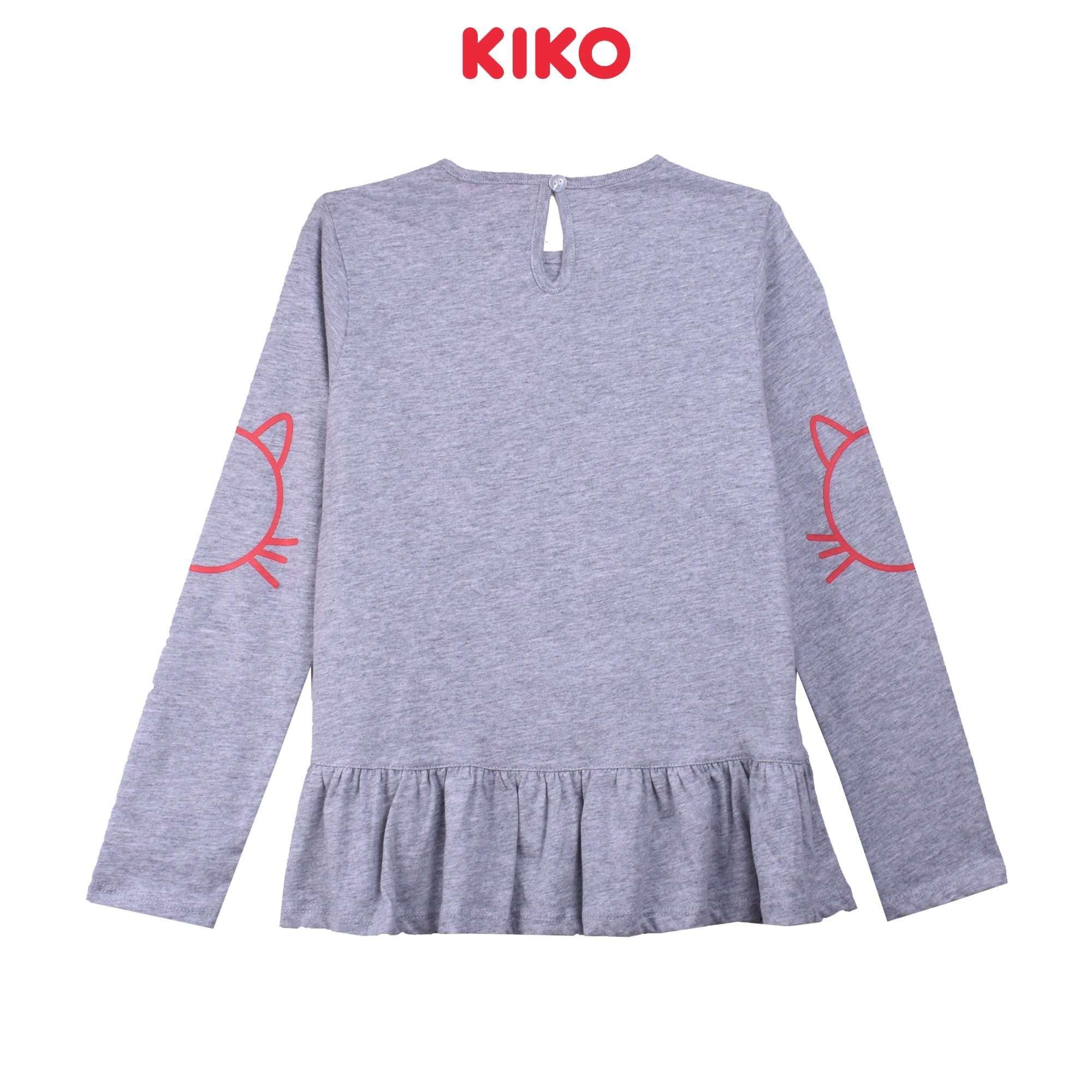 KIKO Girl Long Sleeve Tee K925001-1312-G5 : Buy KIKO online at CMG.MY