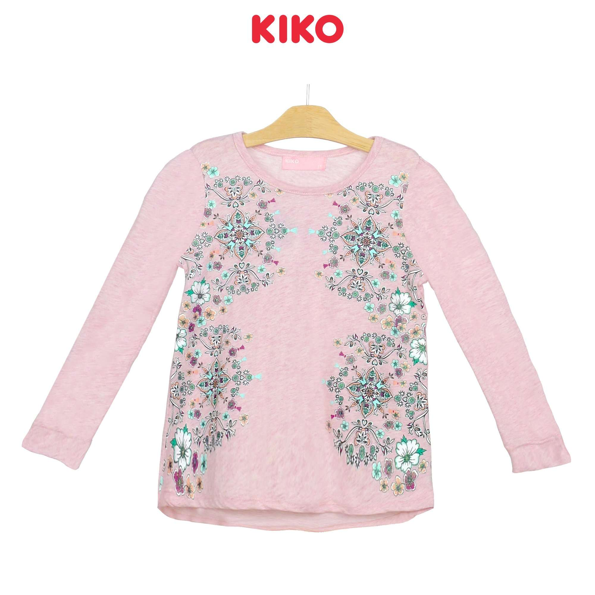KIKO Girl Round Neck Long Sleeve Tee 135072-132 : Buy KIKO online at CMG.MY