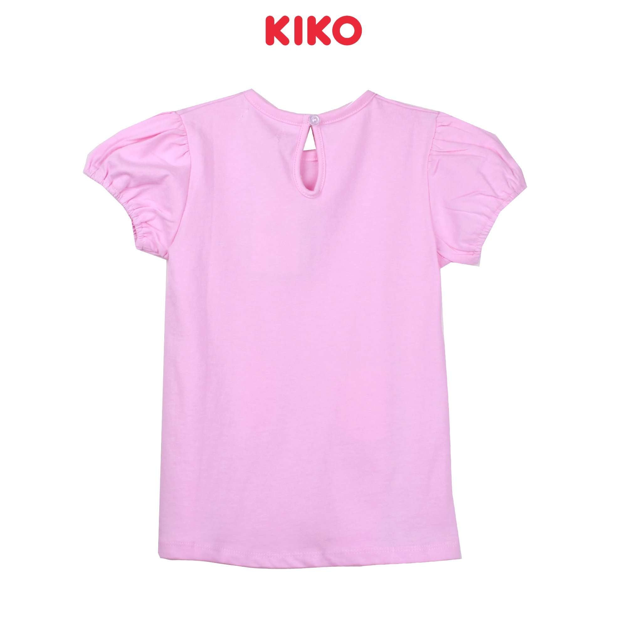 KIKO Girl Short Sleeve Blouse - Pink K925103-1139-P5 : Buy KIKO online at CMG.MY