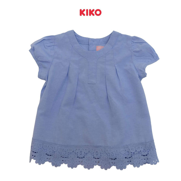 KIKO Girl Short Sleeve Blouse 115025-141 : Buy KIKO online at CMG.MY