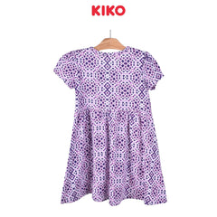 KIKO Girl Short Sleeve Dress Knit 126086-332 : Buy KIKO online at CMG.MY