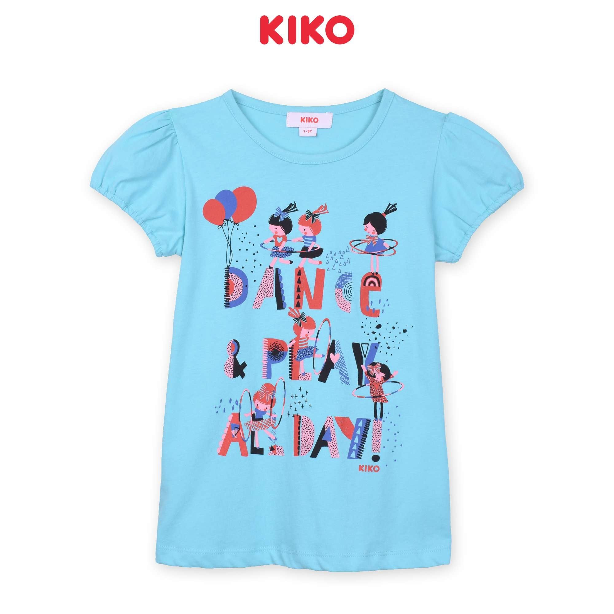 KIKO Girl Short Sleeve Tee - Blue K926103-1133-L5 : Buy KIKO online at CMG.MY