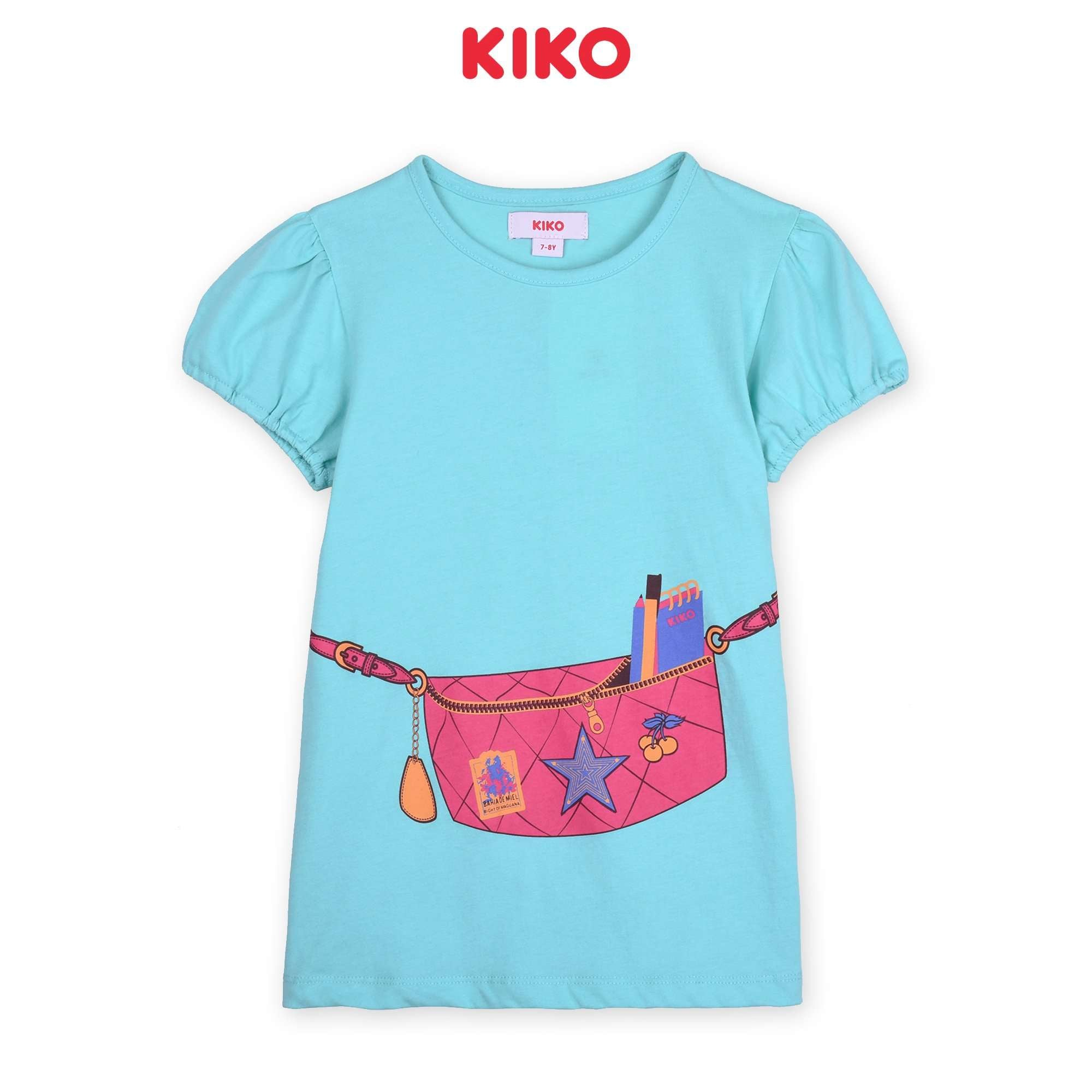 KIKO Girl Short Sleeve Tee - Blue K926103-1176-L5 : Buy KIKO online at CMG.MY