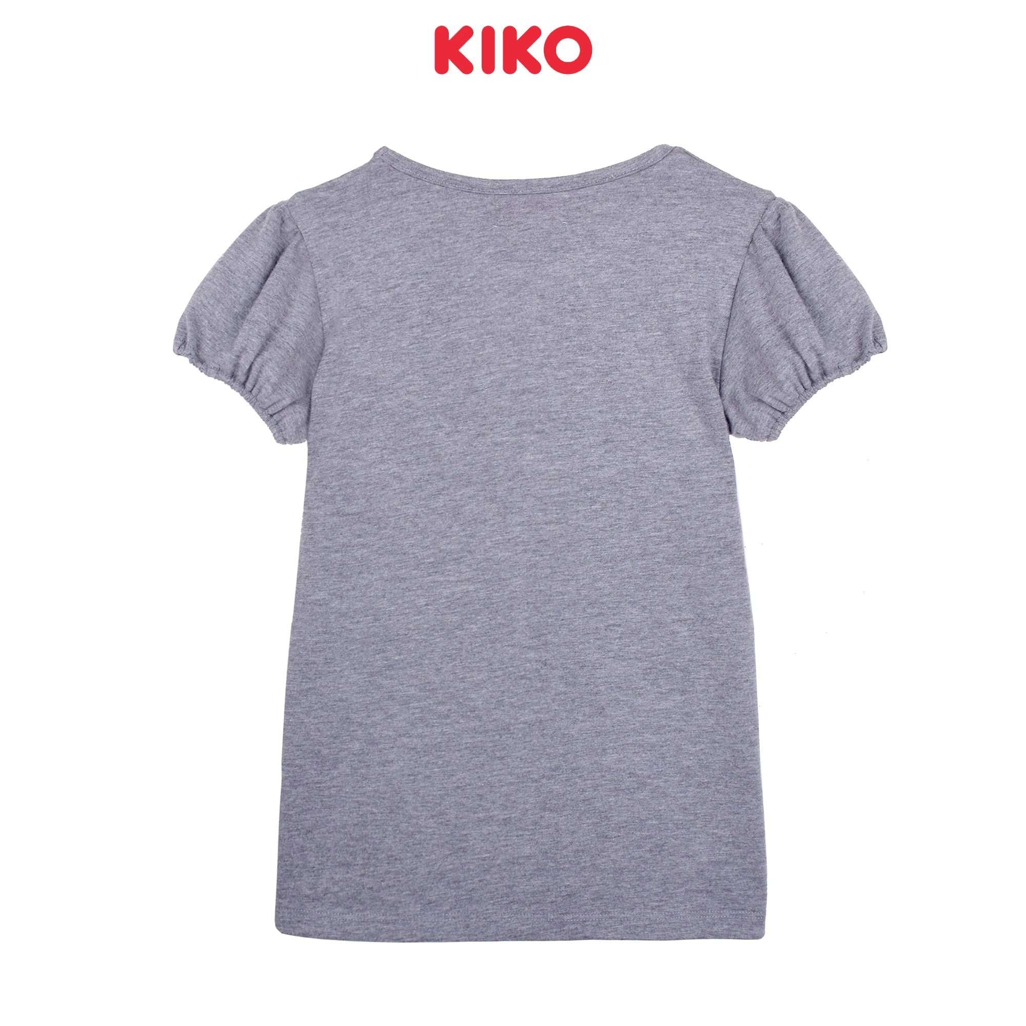 KIKO Girl Short Sleeve Tee - Grey K926103-1145-G5 : Buy KIKO online at CMG.MY