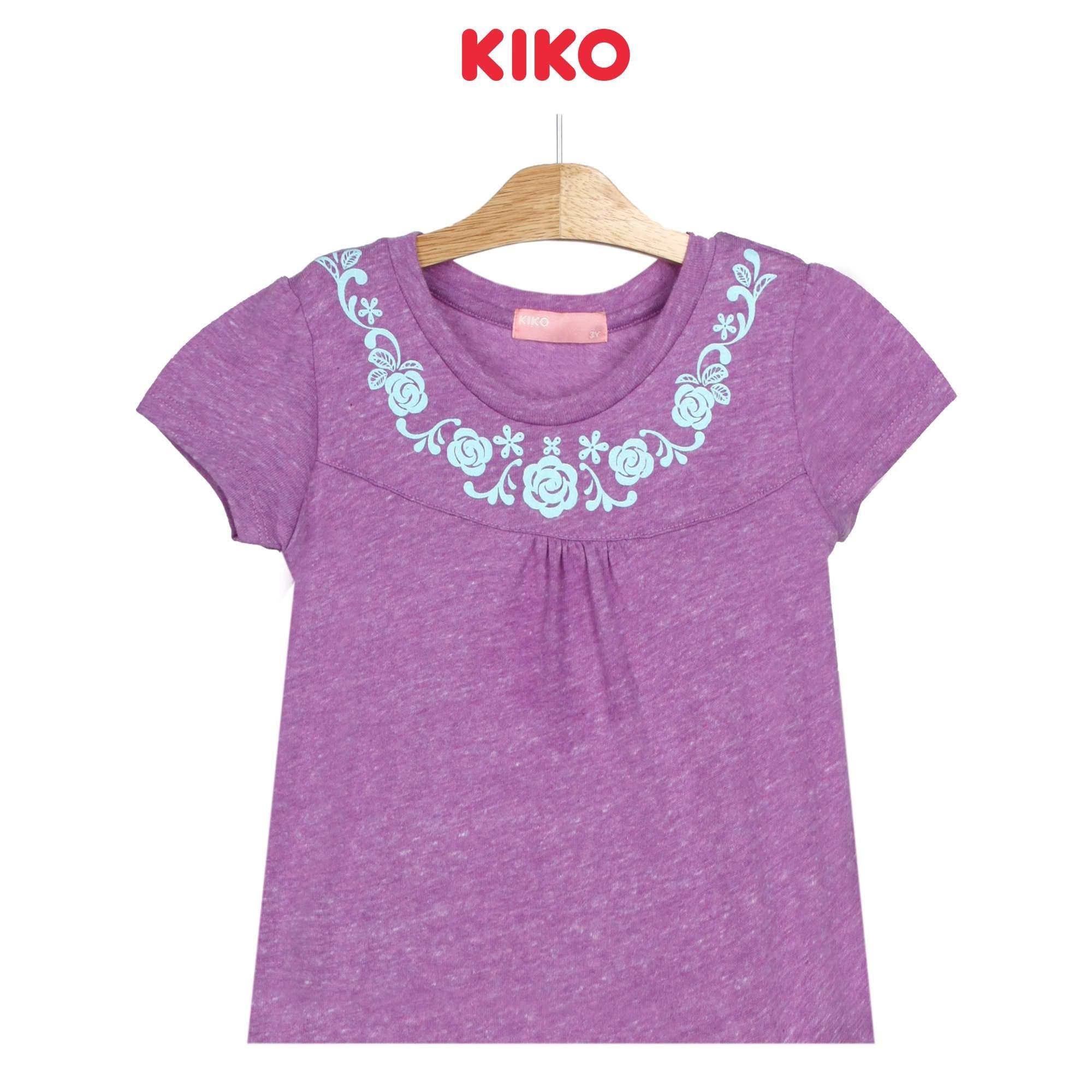 KIKO Girl Short Sleeve Tee - Purple 126069-111 : Buy KIKO online at CMG.MY