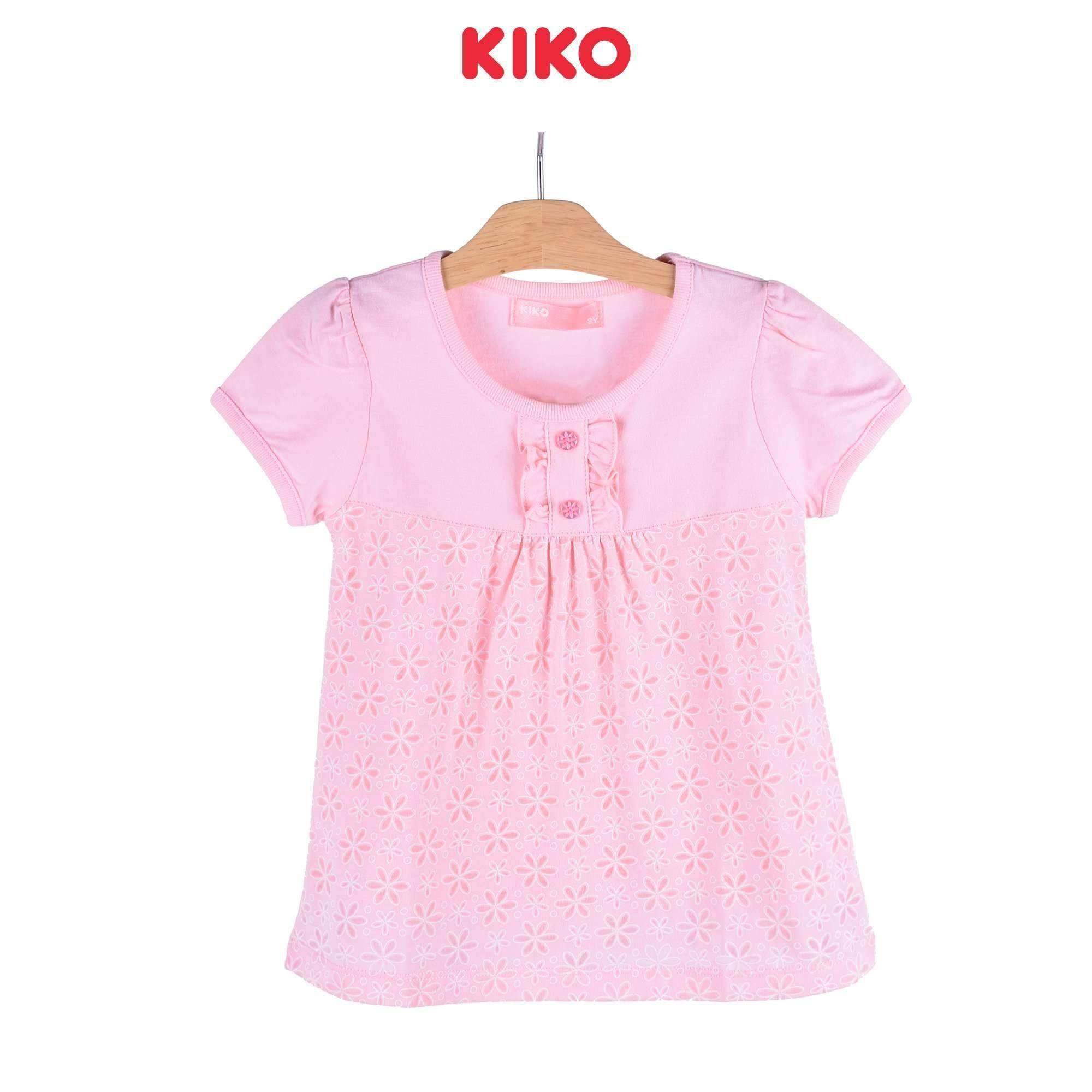 KIKO Girl Short Sleeve Tee 125040-112 : Buy KIKO online at CMG.MY