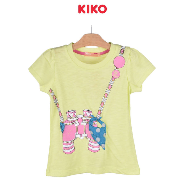 KIKO Girl Short Sleeve Tee 126068-111 : Buy KIKO online at CMG.MY