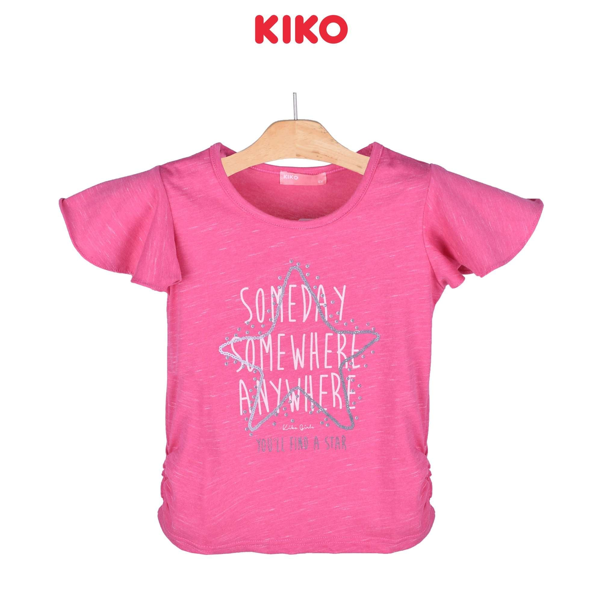 KIKO Girl Short Sleeve Tee 135065-111 : Buy KIKO online at CMG.MY