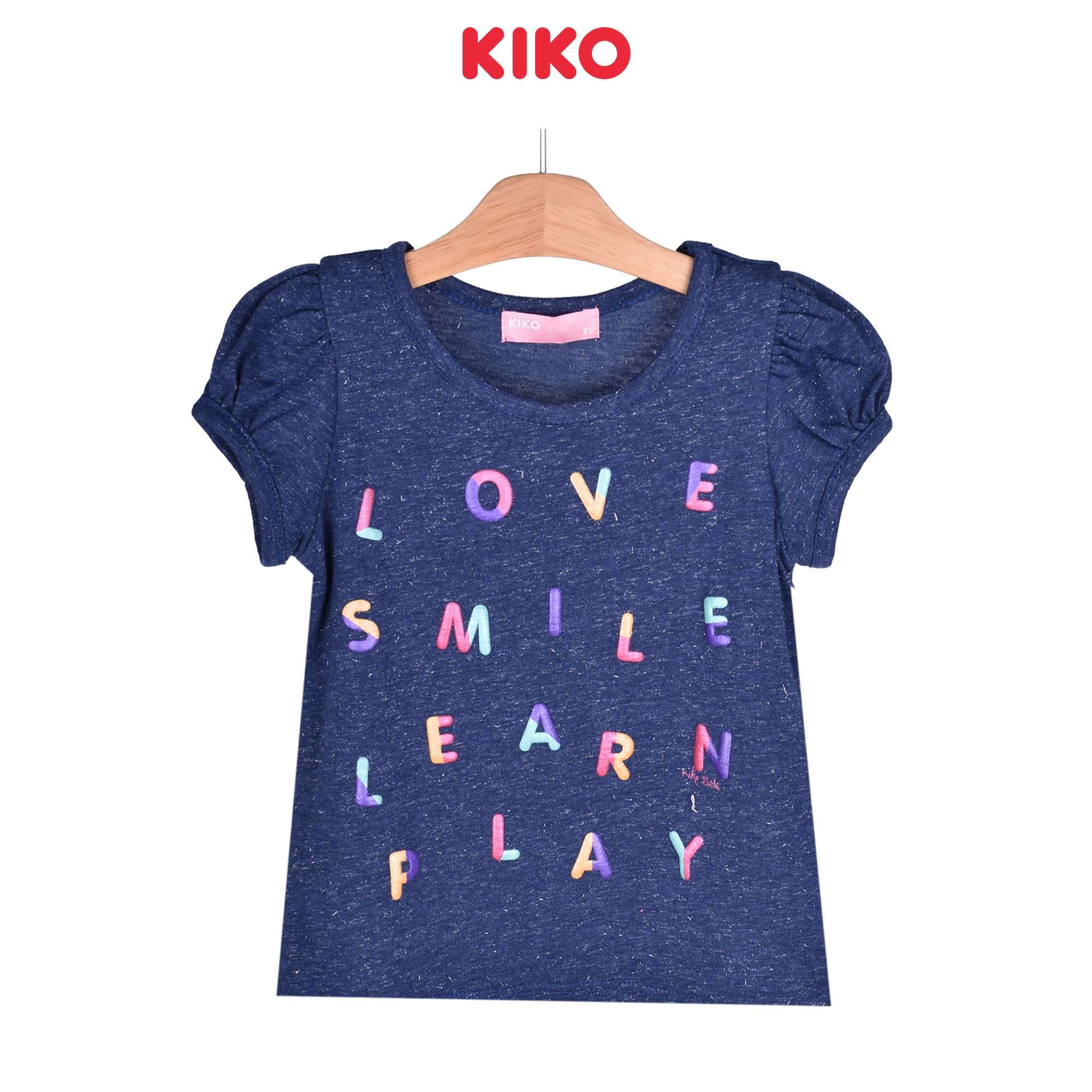 KIKO Girl Short Sleeve Tee 135068-111 : Buy KIKO online at CMG.MY
