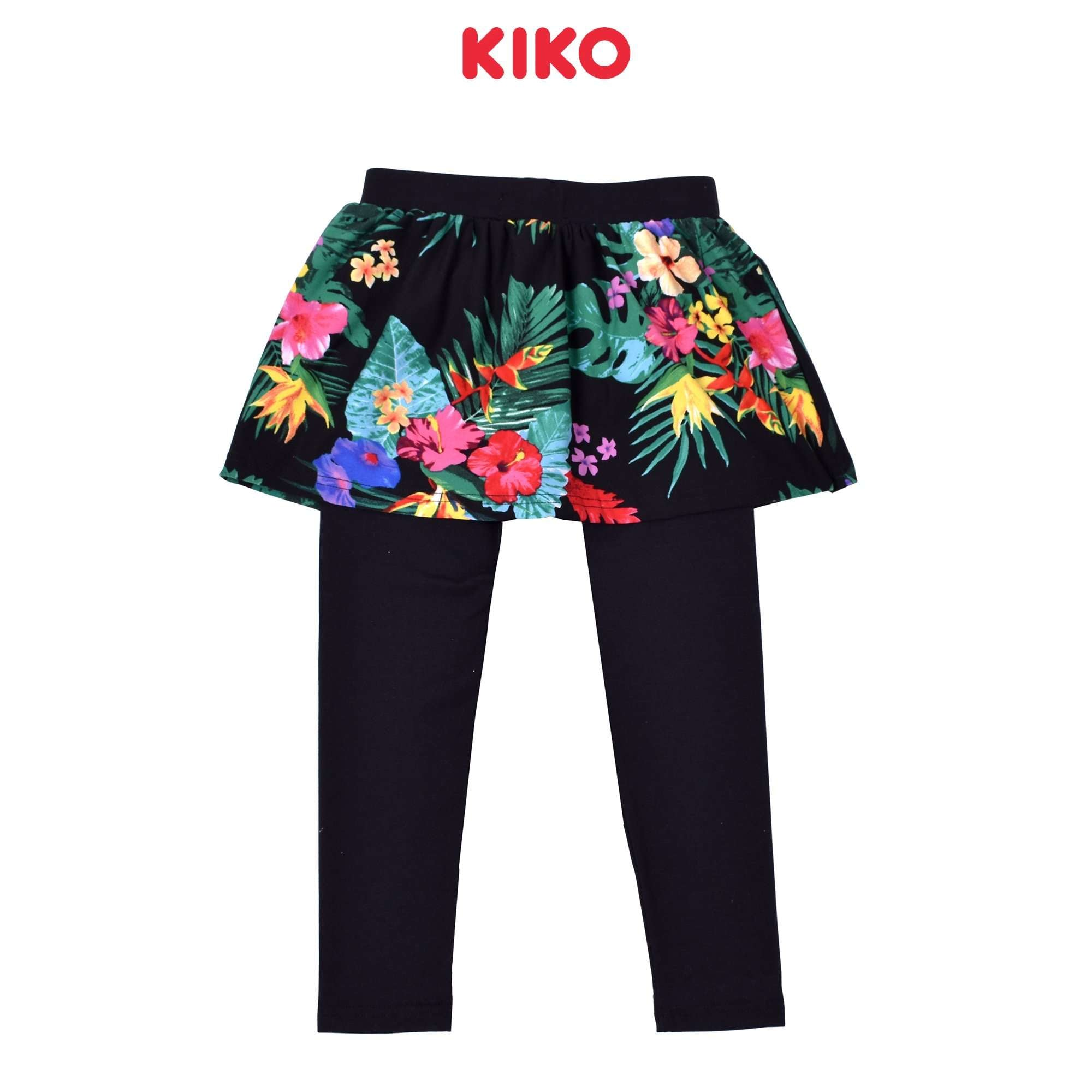 KIKO Girl Skirt Legging Knit- Black 126112-292 : Buy Baby KIKO online at CMG.MY