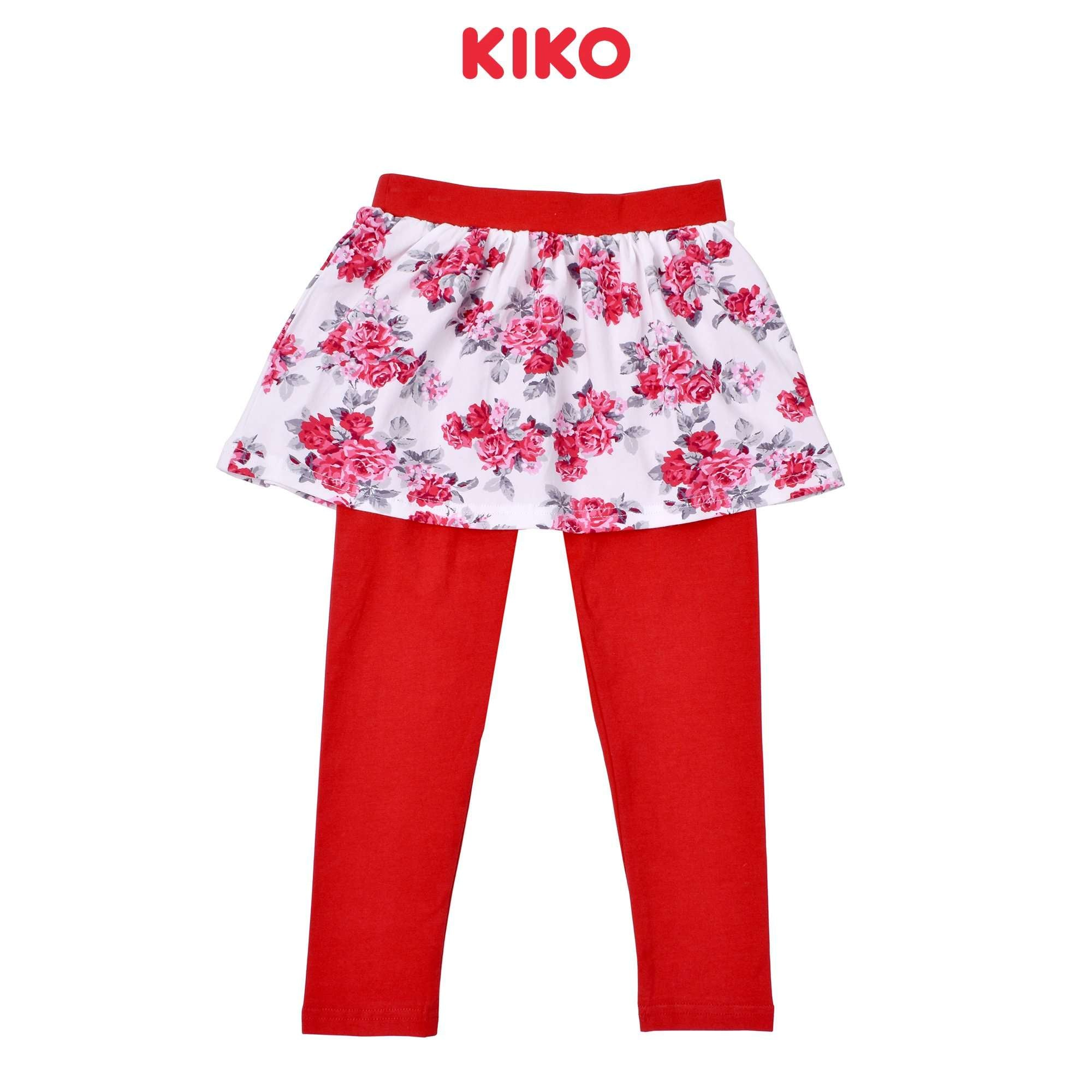 KIKO Girl Skirt Legging Knit -Red 126112-291 : Buy KIKO online at CMG.MY