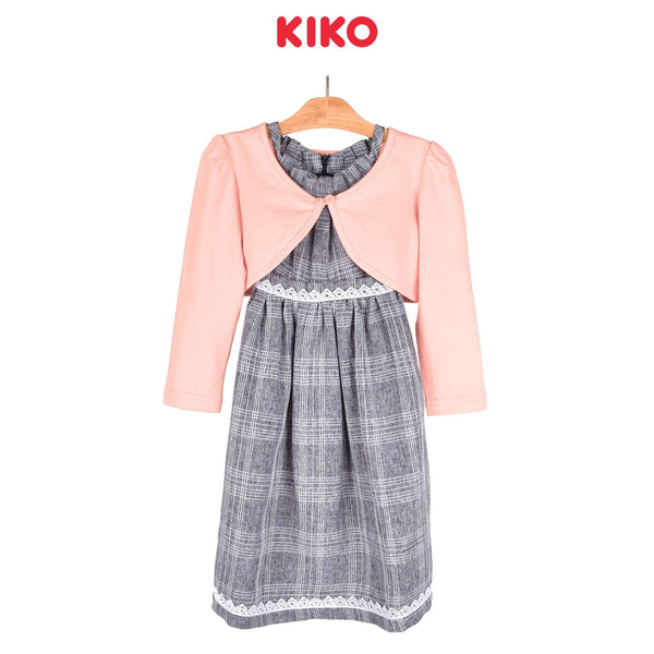 KIKO Girl Sleeveless Dress - Grey 115070-322 : Buy KIKO online at CMG.MY
