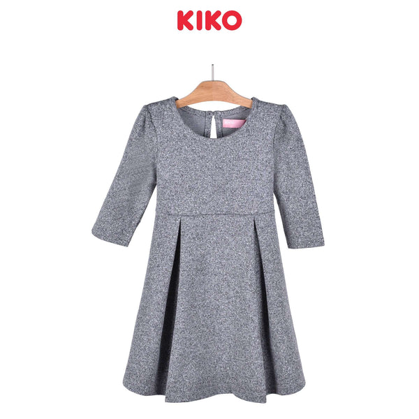 KIKO Girl Three Quarters Sleeve Dress Knit 126070-331 : Buy KIKO online at CMG.MY