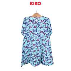 KIKO Girl Three Quarters Sleeve Dress Knit 126086-333 : Buy KIKO online at CMG.MY