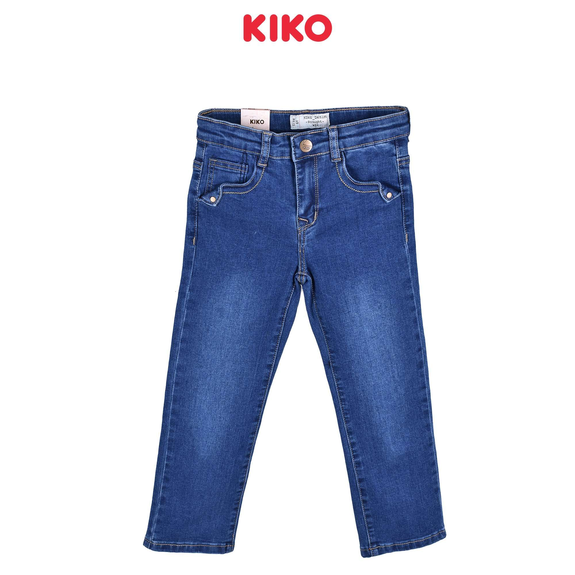 KIKO Girl Jeans Slim Fit - Blue 135061-211 : Buy KIKO online at CMG.MY