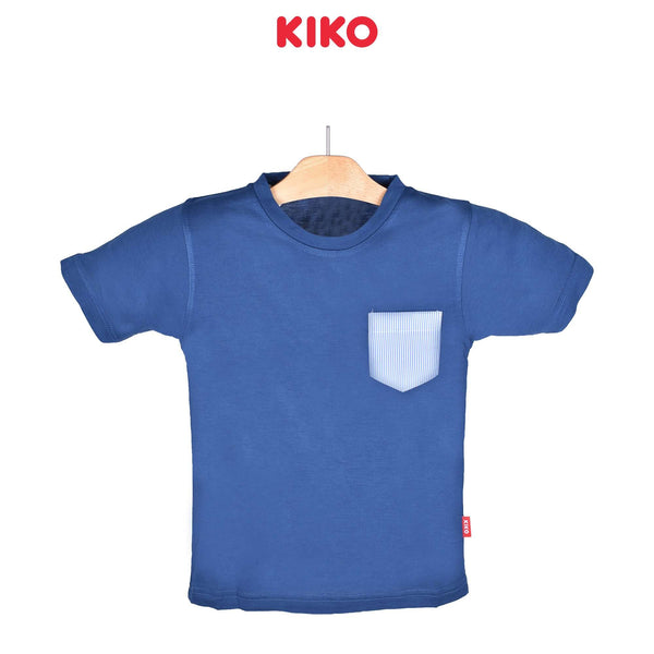 KIKO Boy Short Sleeve Tee - Blue 121252-111 : Buy KIKO online at CMG.MY