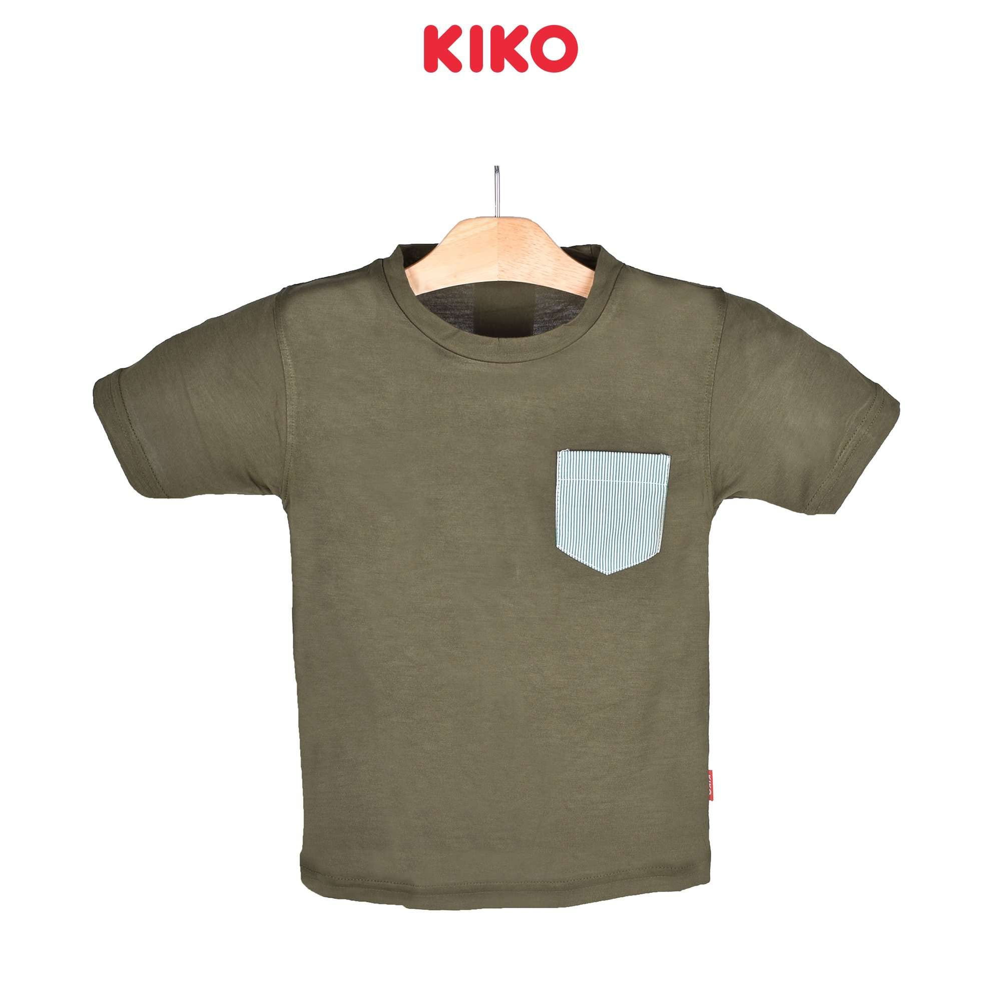 KIKO Boy Short Sleeve Tee - Green 121252-111 : Buy KIKO online at CMG.MY