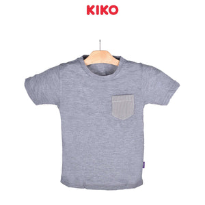 KIKO Boy Short Sleeve Tee - Grey 121252-111 : Buy KIKO online at CMG.MY