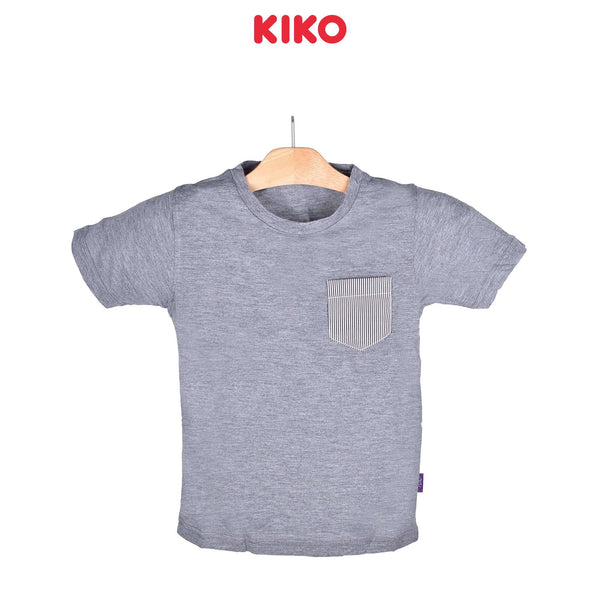 KIKO Boy Short Sleeve Tee Grey 121252-111 : Buy KIKO online at CMG.MY