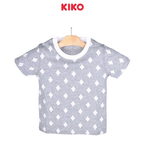 KIKO Boy Short Sleeve Tee - Grey 121255-111 : Buy KIKO online at CMG.MY