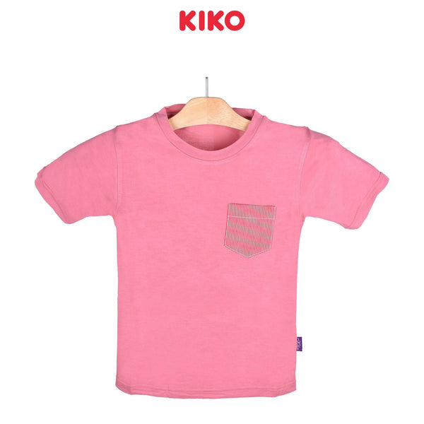 KIKO Boy Short Sleeve Tee Pink 121252-111 : Buy KIKO online at CMG.MY