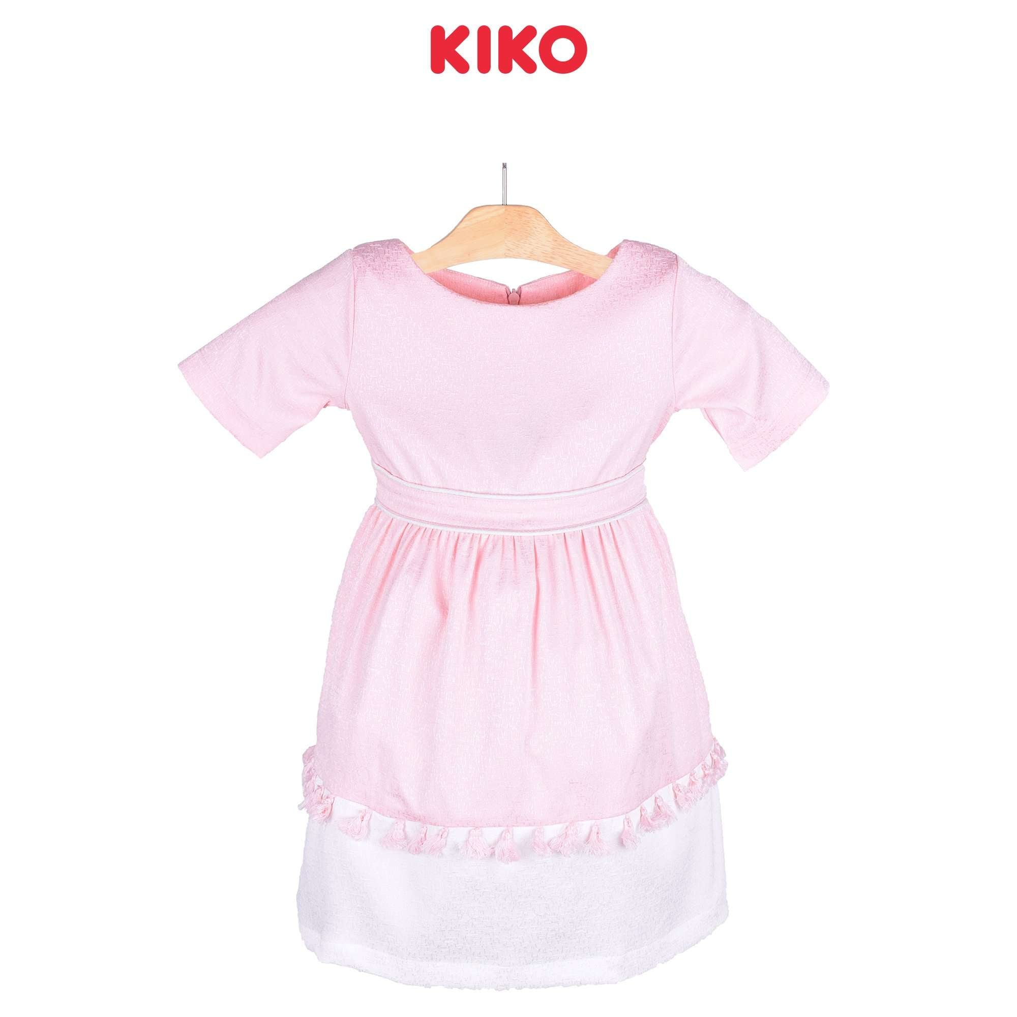 KIKO Girl Short Sleeve Dress - Pink 115059-312 : Buy KIKO online at CMG.MY