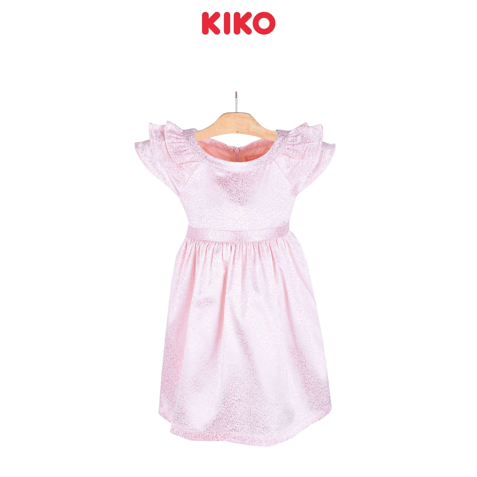 KIKO Girl Short Sleeve Dress Woven - Pink 115058-312 : Buy KIKO online at CMG.MY