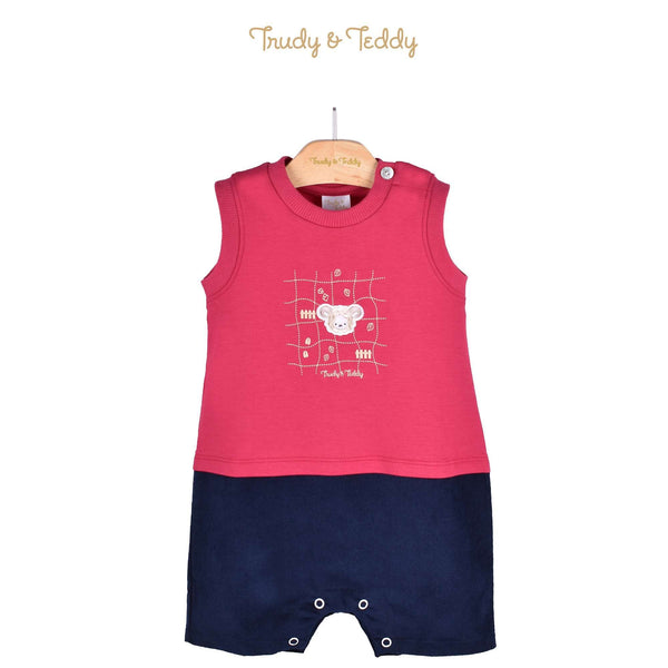 Trudy & Teddy Baby Boy Knit Sleeveless Short Romper 810089-361 : Buy Trudy & Teddy online at CMG.MY
