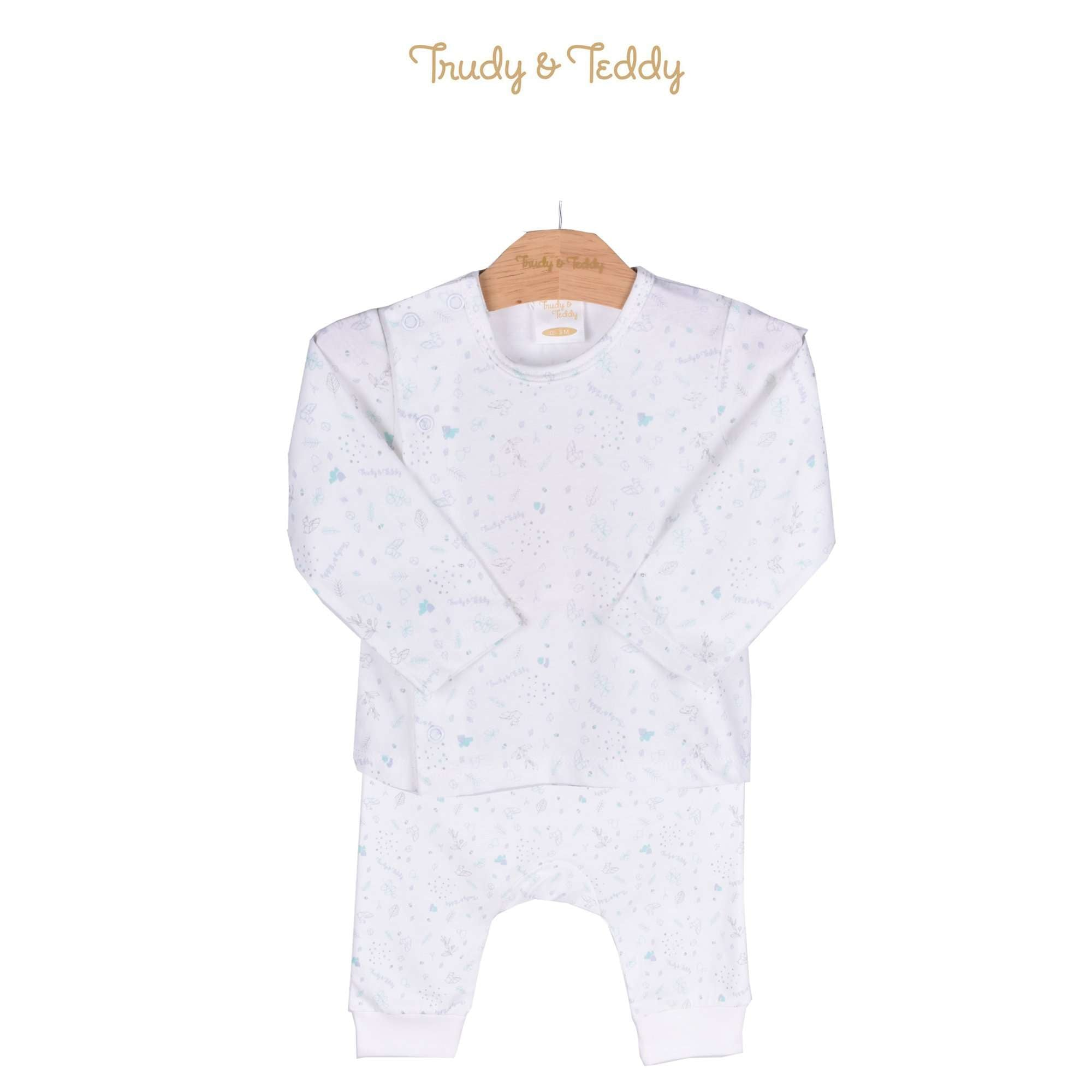 Trudy & Teddy Baby Boy Long Sleeve Long Pants Suit 820030-431 : Buy Trudy & Teddy online at CMG.MY