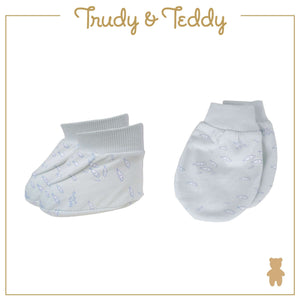 Trudy & Teddy Baby Boy Mittens & Booties 820038-701 : Buy Trudy & Teddy online at CMG.MY