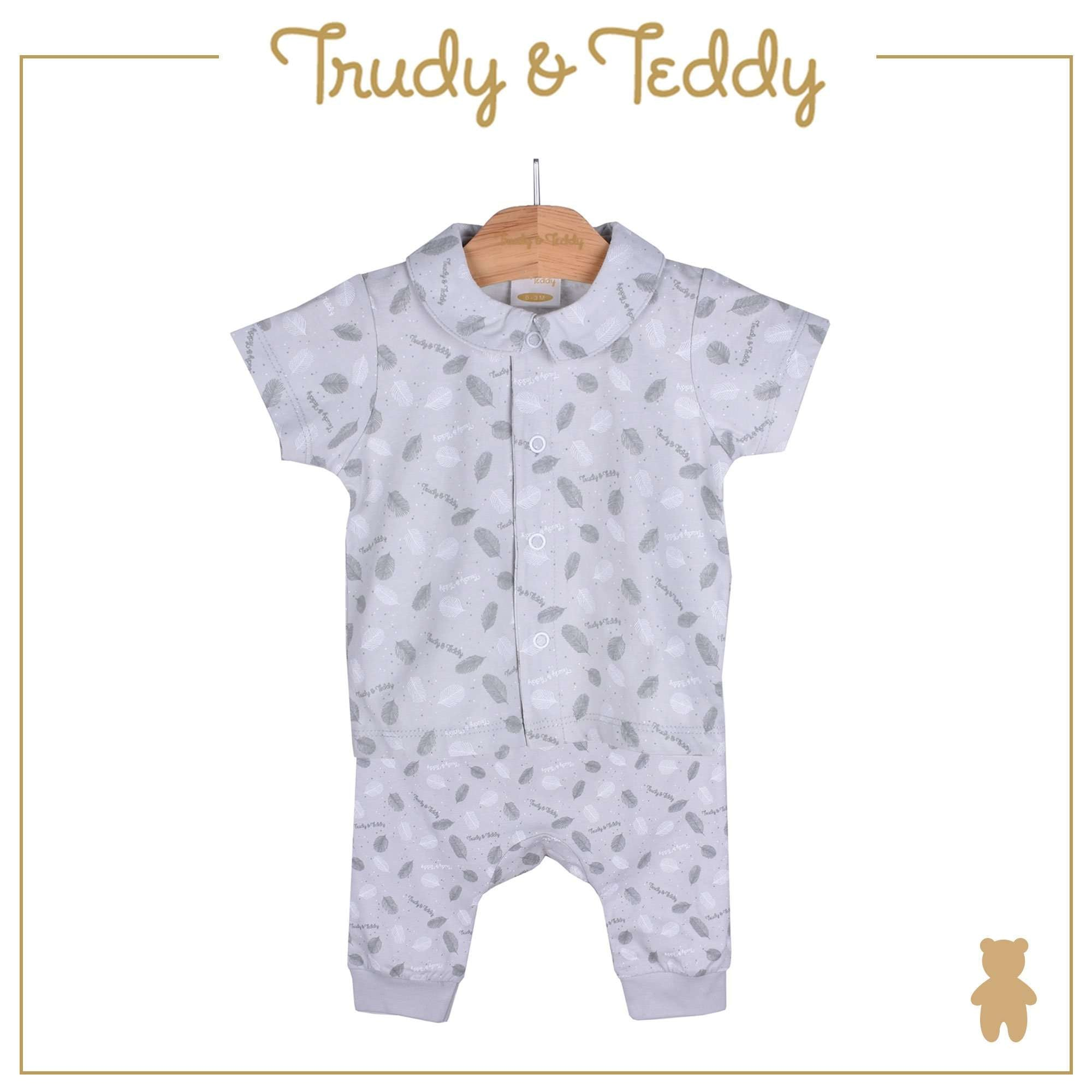 Trudy & Teddy Baby Boy Short Sleeve Long Pants Suit 820029-421 : Buy Trudy & Teddy online at CMG.MY