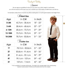 Trudy & Teddy Baby Boy Short Sleeve Long Pants Suit 820030-421 : Buy Trudy & Teddy online at CMG.MY