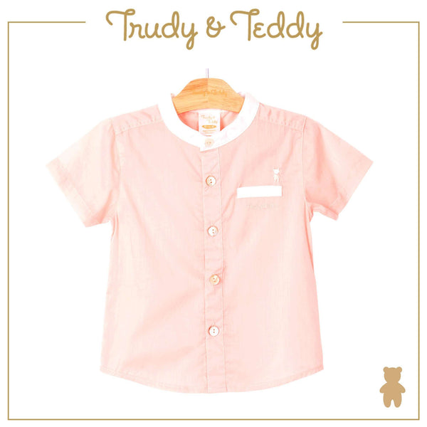 Trudy & Teddy Baby Boy Short Sleeve Shirt 810062-141 : Buy Trudy & Teddy online at CMG.MY