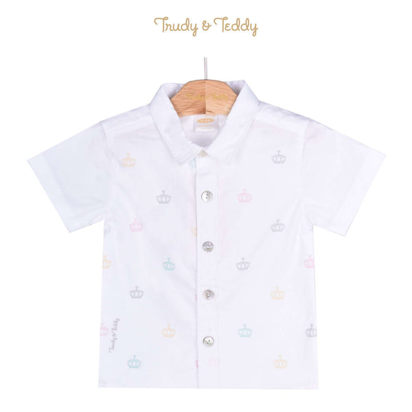 Trudy & Teddy Baby Boy Short Sleeve Shirt 810112-141 : Buy Trudy & Teddy online at CMG.MY
