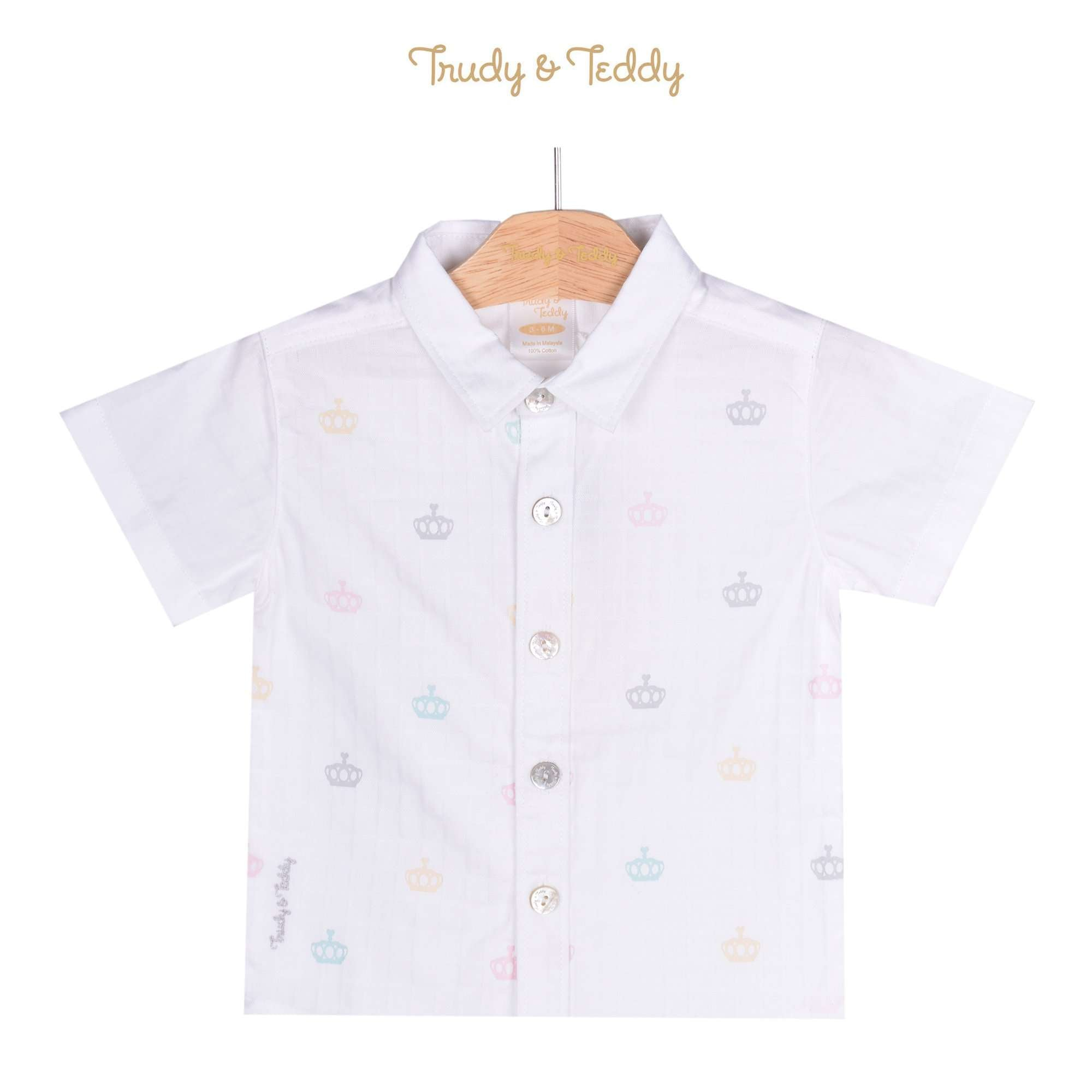 Trudy & Teddy Baby Boy Short Sleeve Shirt 810112-142 : Buy Trudy & Teddy online at CMG.MY