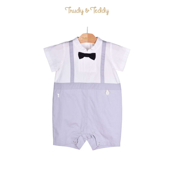 Trudy & Teddy Baby Boy Short Sleeve Short Romper 810029-353 : Buy Trudy & Teddy online at CMG.MY