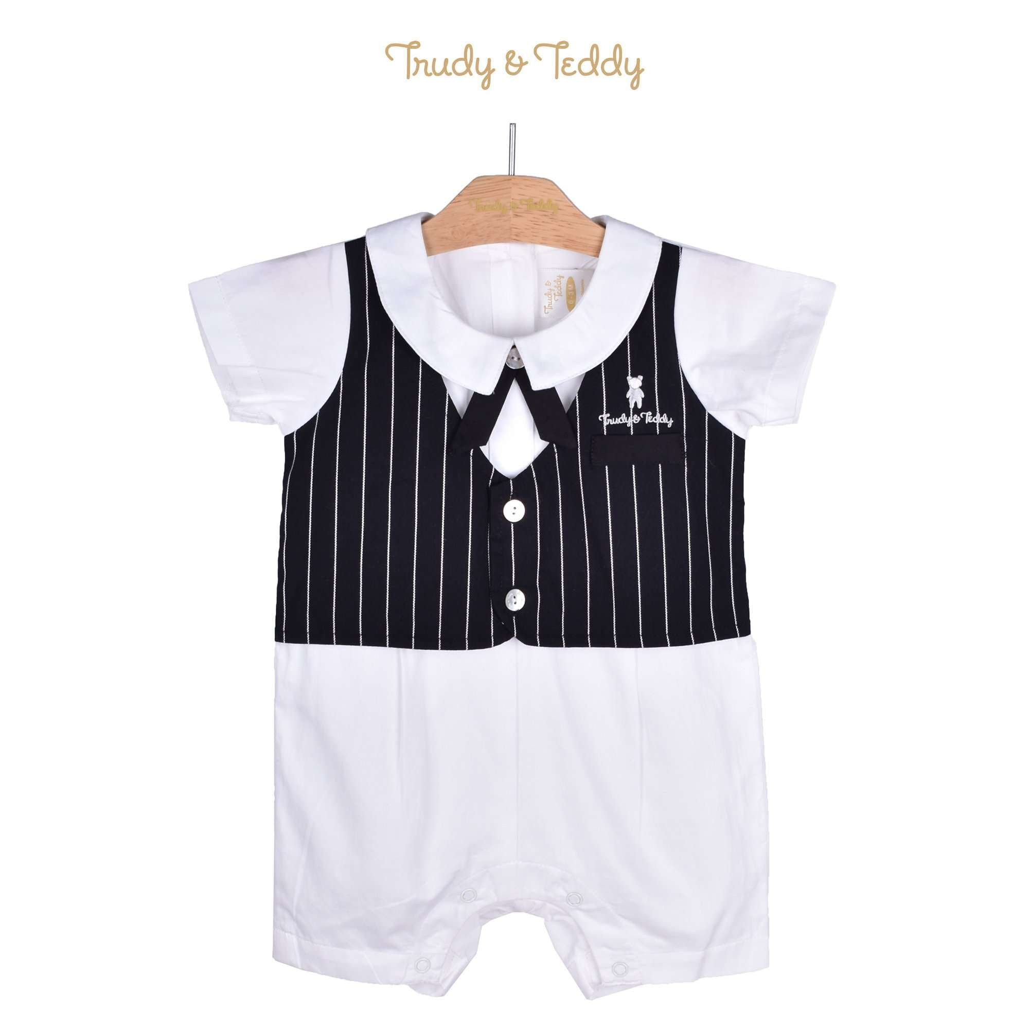 Trudy & Teddy Baby Boy Short Sleeve Short Romper 810080-351 : Buy Trudy & Teddy online at CMG.MY