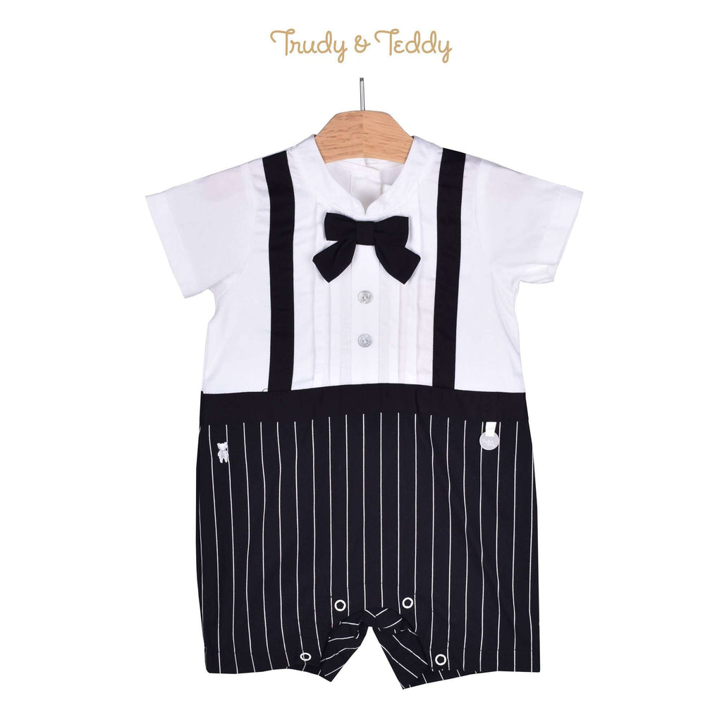 df5185dfba9f Trudy   Teddy Baby Boy Short Sleeve Short Romper 810080-352 Kids ...