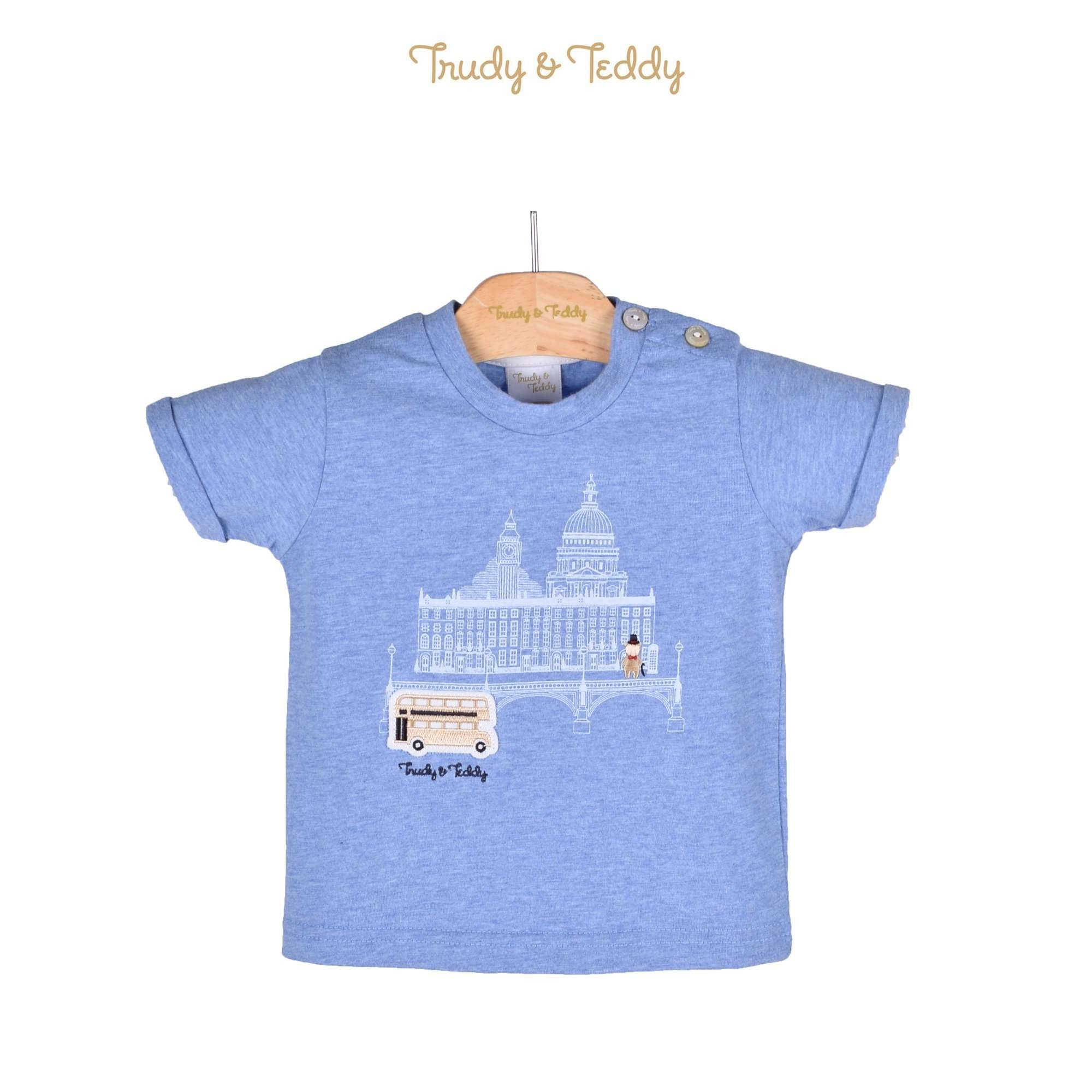Trudy & Teddy Baby Boy Short Sleeve Tee 810106-111 : Buy Trudy & Teddy online at CMG.MY