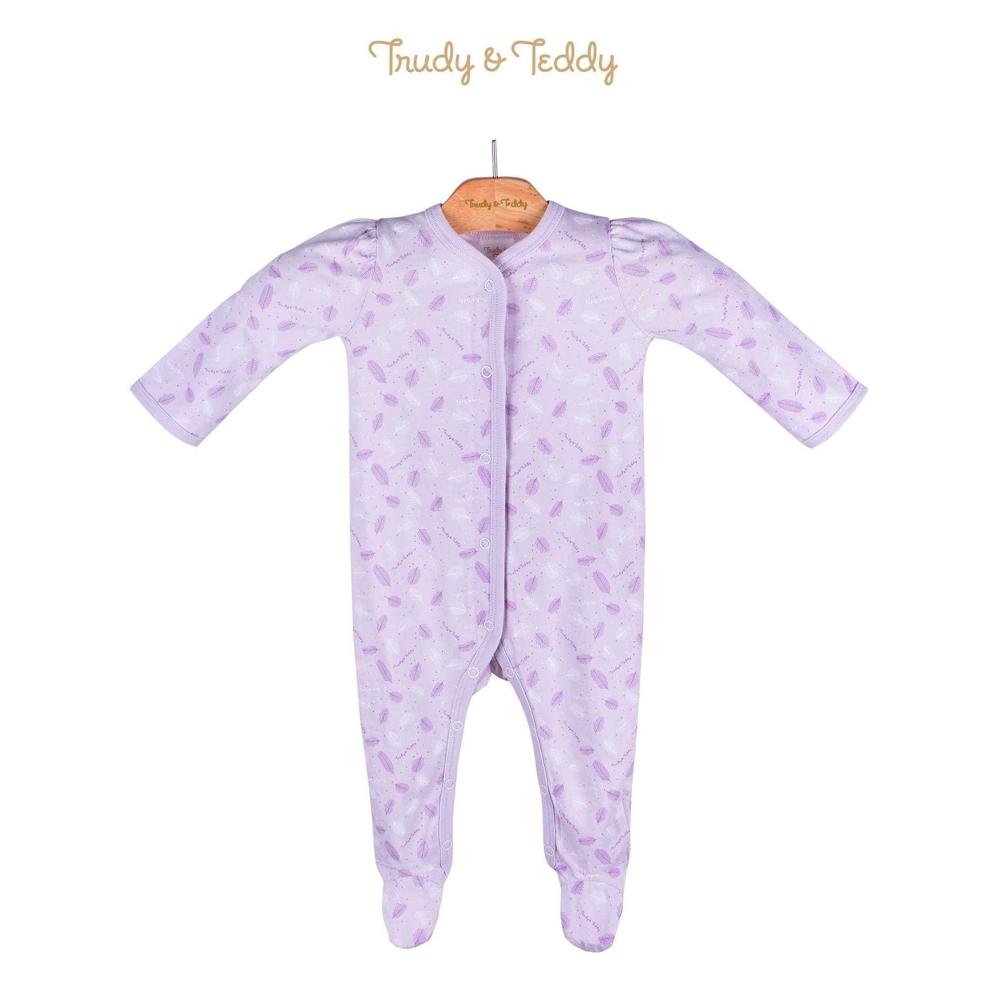 Trudy & Teddy Baby Girl Long Sleeve Long Romper 820031-362 : Buy Trudy & Teddy online at CMG.MY