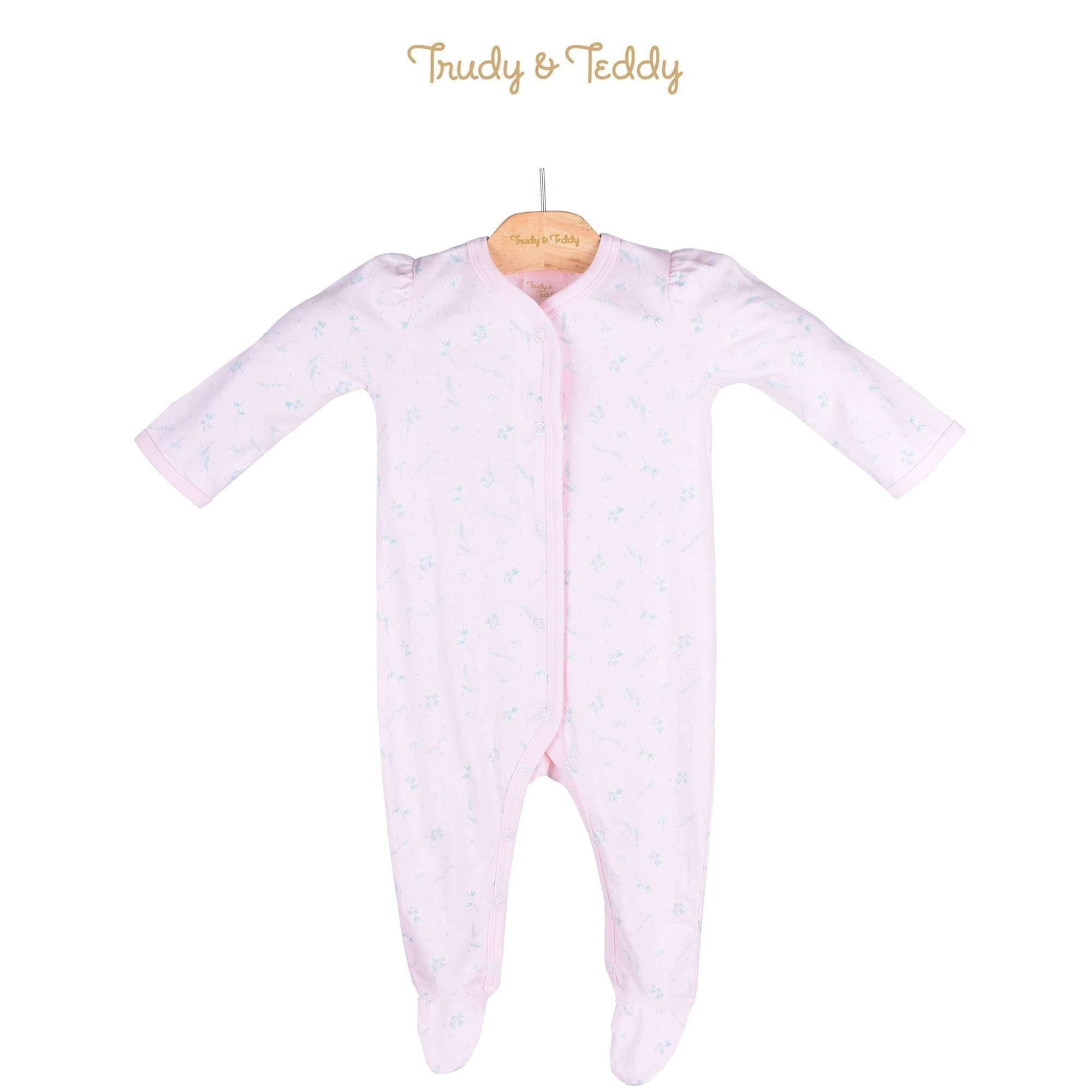 Trudy & Teddy Baby Girl Long Sleeve Long Romper 820032-362 : Buy Trudy & Teddy online at CMG.MY